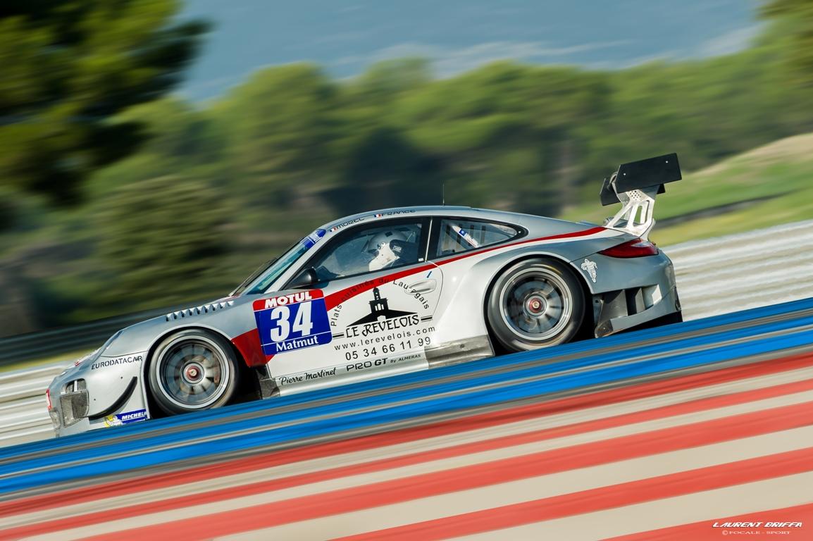 GT Tour 2013 - FFSA GT - Pro GT by Almeras -Erwin  France et Franck  Morel - Porsche 911 GT3R - Laurent Briffa