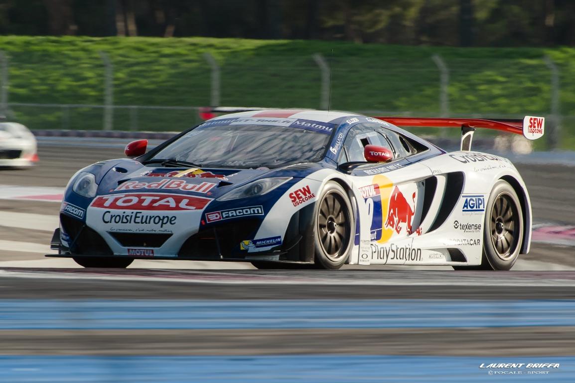 GT Tour 2013 - FFSA GT - Loeb Racing - McLaren MP4-12C - Sébastien loeb et Christophe Lapierre - Laurent Briffa