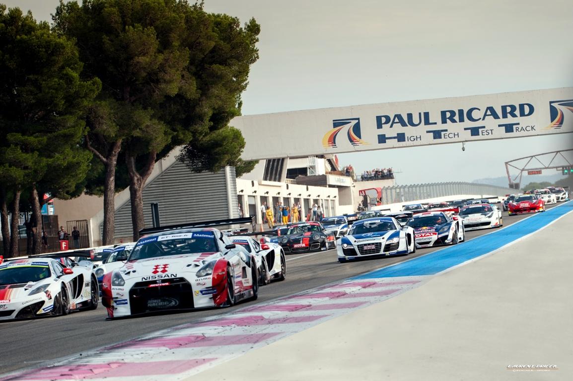 départ course FFSA GT