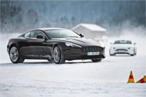Pneu hiver - Aston Martin Ice Driving - Euromaster