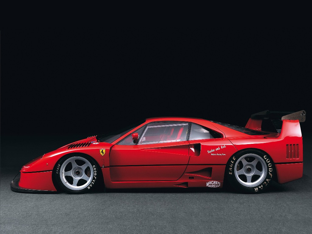 ferrari f40 lm nom de code f40 corsa partie 1 1988. Black Bedroom Furniture Sets. Home Design Ideas