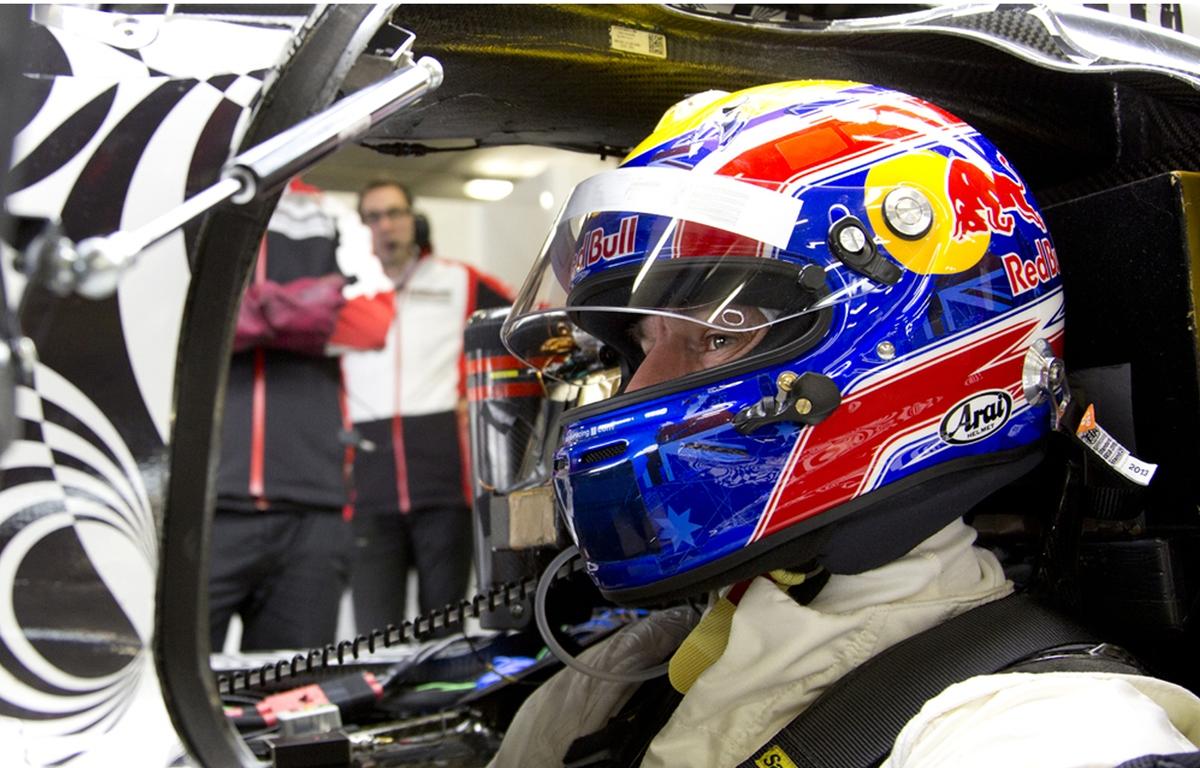 Mark Webber Porsche LMP1 WEC 2014