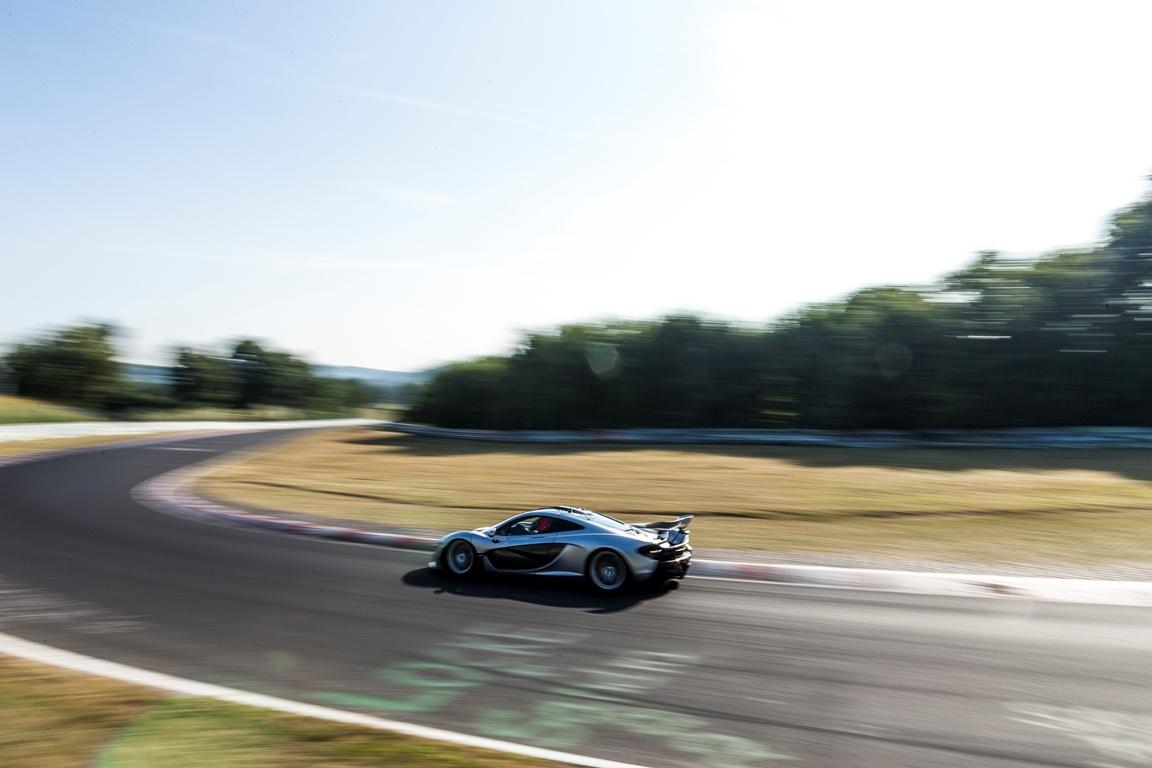 McLaren P1 – Nurburgring Nordschleife July 2013