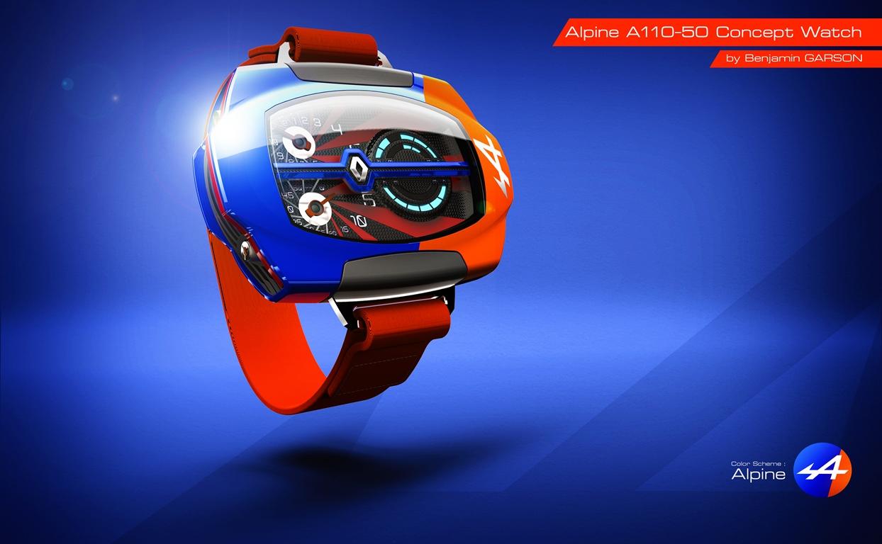 Alpine A110-50 Concept Watch - Benjamin Garson