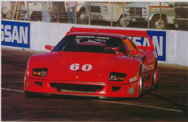 f40 LM imsa 89 Jabouille Del Mar 1989 1