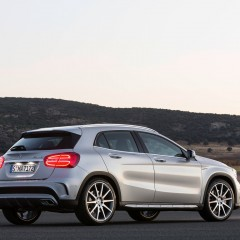 Mercedes GLA 45 AMG : lancement au Salon de Detroit