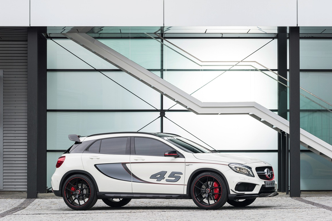 Merceries-Benz GLA 45 AMG Concept