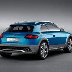 Audi Allroad Shooting Brake : le futur Q1, Q2 ou TT ?