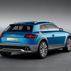 Audi Allroad Shooting Brake : le futur Q1, Q2 ou TT ?