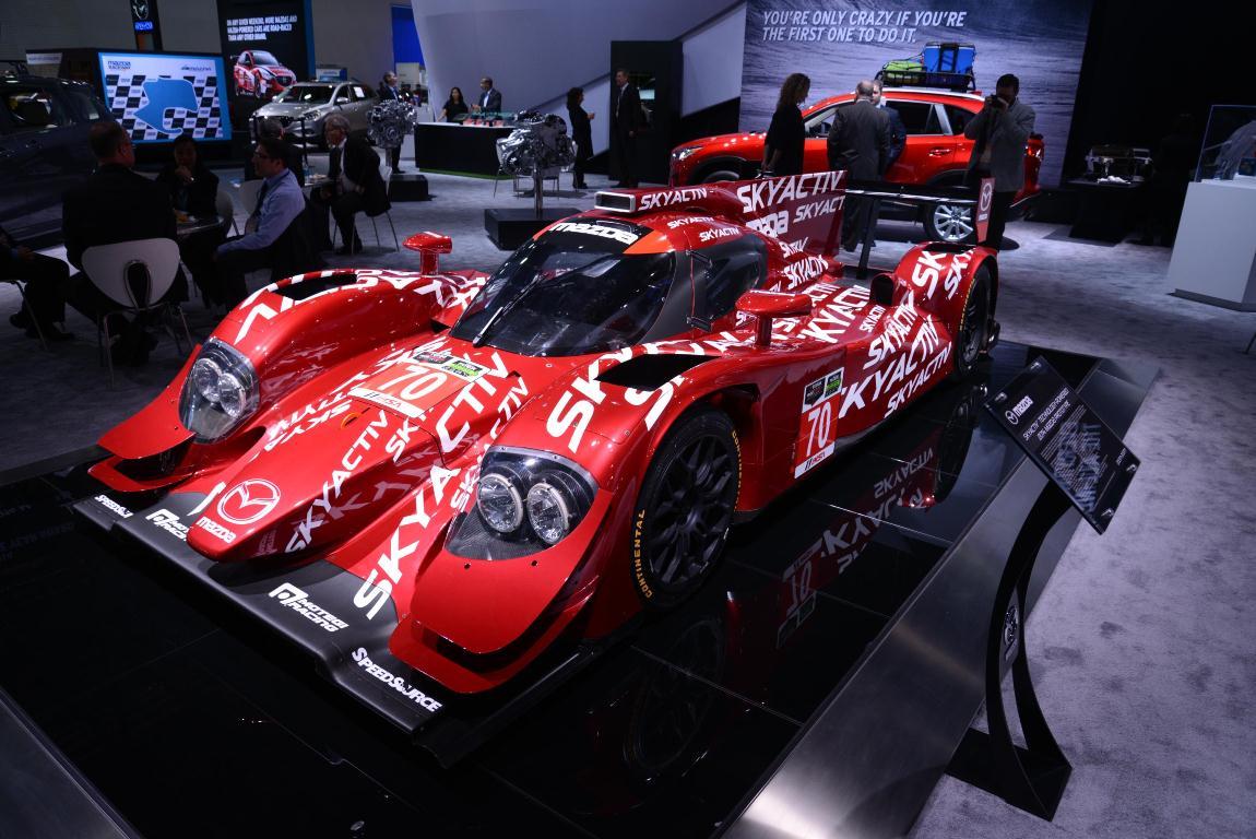 Mazda LMP2 SkyActiv diesel 2.2L