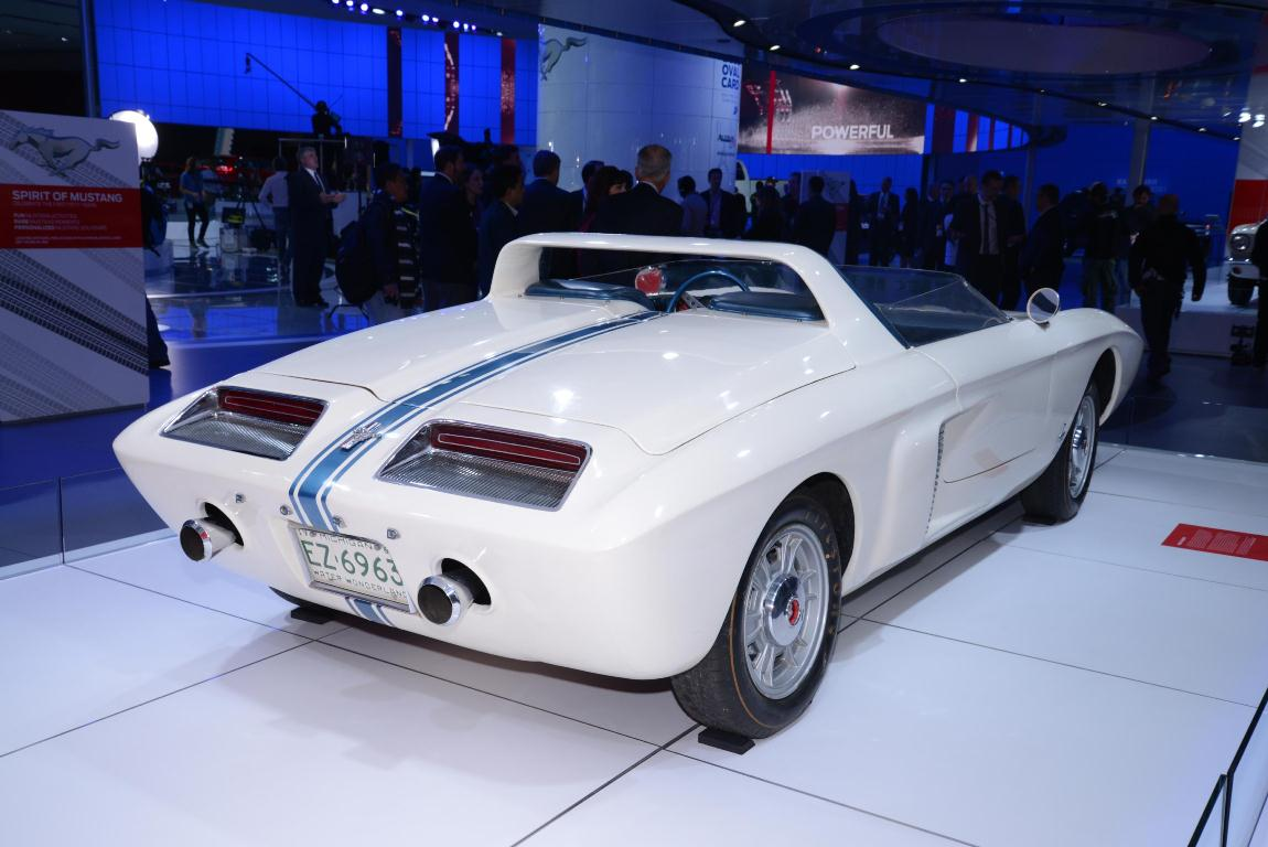 Ford Mustang 1 Concept 1962