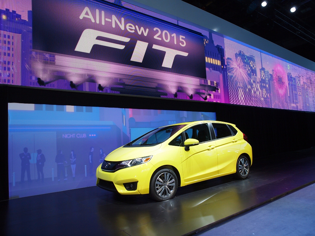 Honda Fit (Jazz) 2015