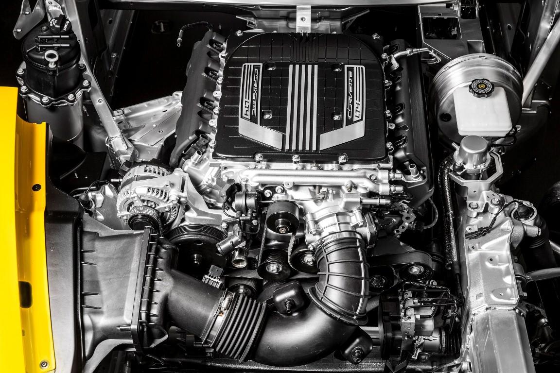 "2015 ""LT4"" 6.2L V-8 AFM VVT DI SC (LT4) engine for Chevrolet Corvette Z06"