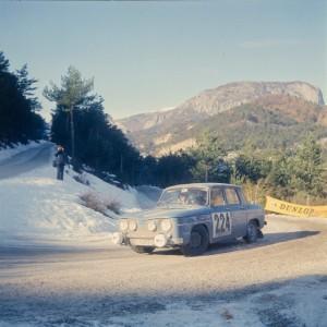 Renault 8 Gordini Rallye Monte Carlo