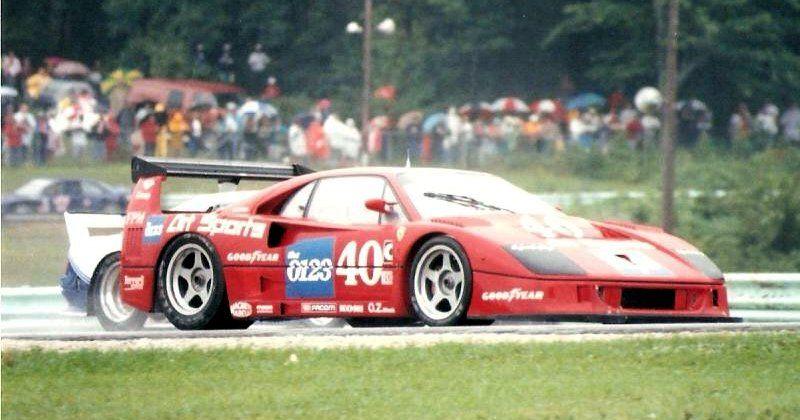 F40 LM IMSA Road America 1990