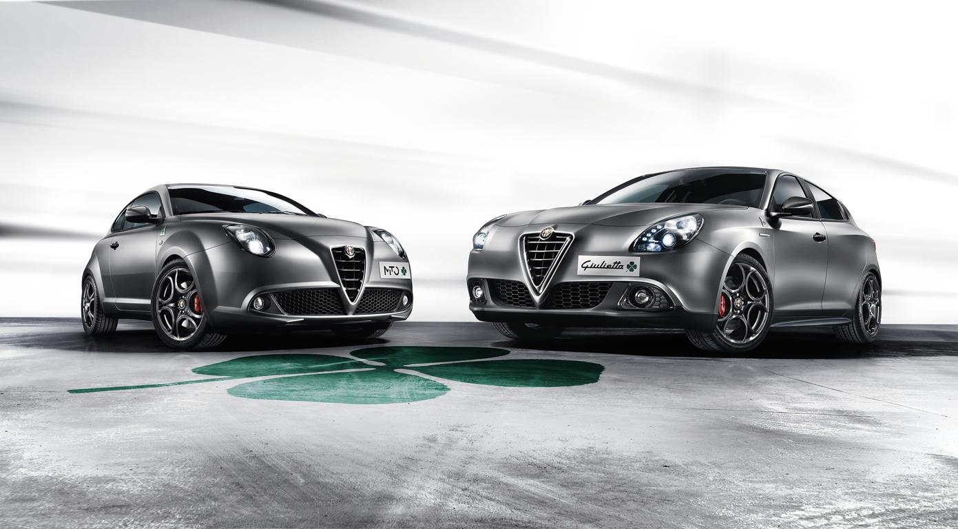 Alfa Romeo Giulietta et MiTo Quadrifoglio Verde