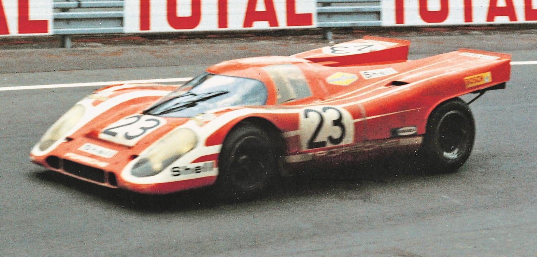 1970 24 HEURES DU MANS #23 Porsche (Porsche KG Salzburg) Hans Herrmann (D) – Richard Attwood (GB) –   () – res01