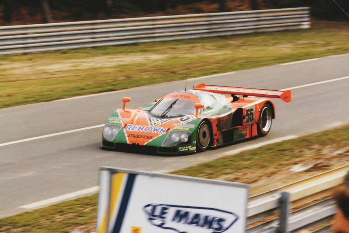 1991 24 HEURES DU MANS #55 Mazda (Mazdaspeed) Volker Weidler (D) – Johnny Herbert (GB) – Bertrand Gachot (F) – res01