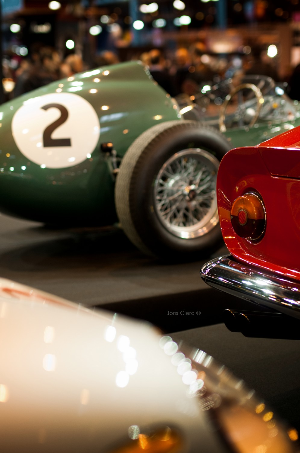 Rétromobile 2014 Aston Martin DBR4/4 Grand Prix