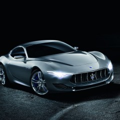 Maserati Alfieri Concept : coupé 2+2 pour le centième anniversaire du trident