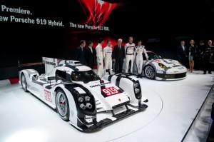 Porsche 919 LMP1 Hybrid et 911 RSR