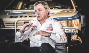 Peugeot retour sur le Rallye Dakar en 2015 - Carlos Sainz