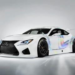 Lexus RC F GT3 Concept : présentation au Salon de Genève