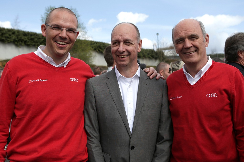 Chris Reinke, Dirk van Braeckel, Dr. Wolfgang Ullrich