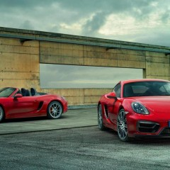 Porsche Boxster et Cayman GTS : lancement au Salon de New York