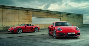 Porsche Boxster et Cayman GTS