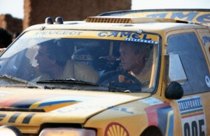 Ari Vatanen 1987 - Peugeot Sport Dakar