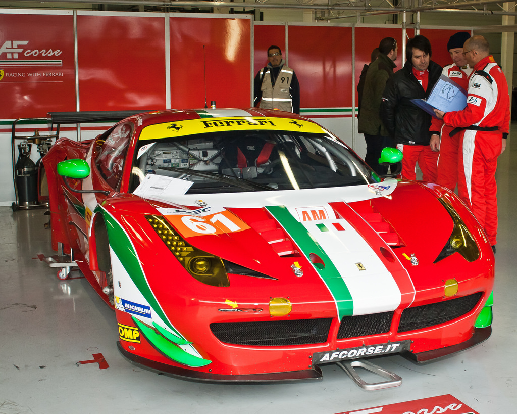 European Le Mans Series - Silverstone 2014 - AF Corse Ferrari F458