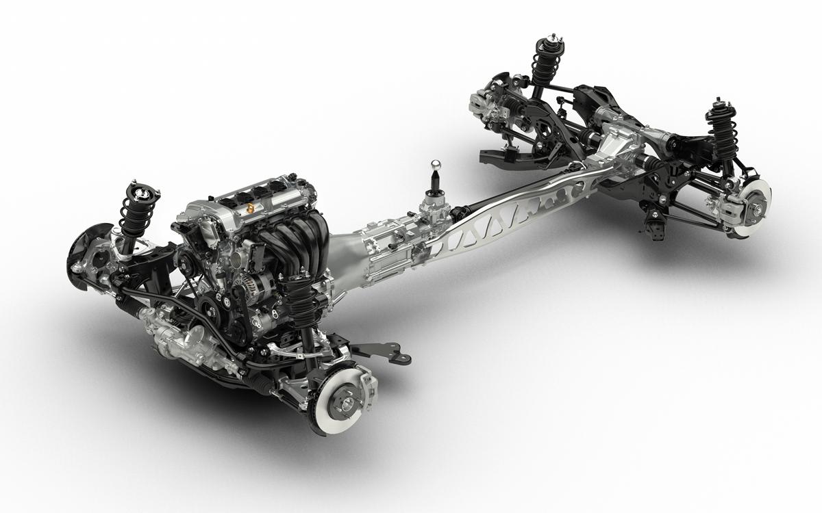 Mazda MX-5 châssis type ND 4ème génération