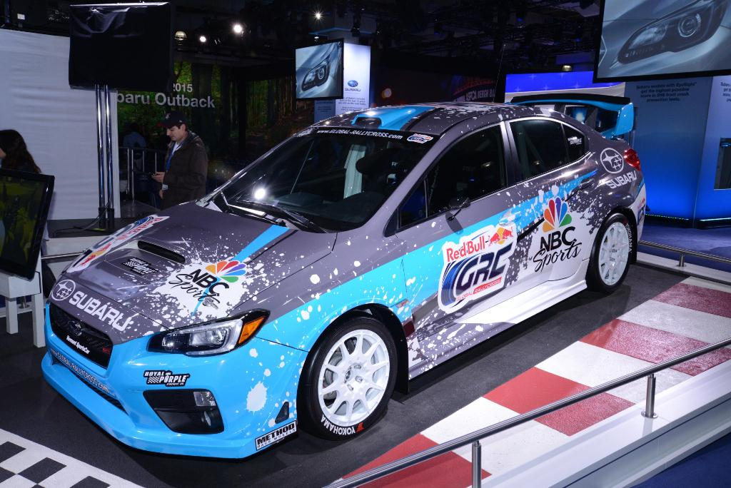 Subaru WRX STI version Global Rally Cross