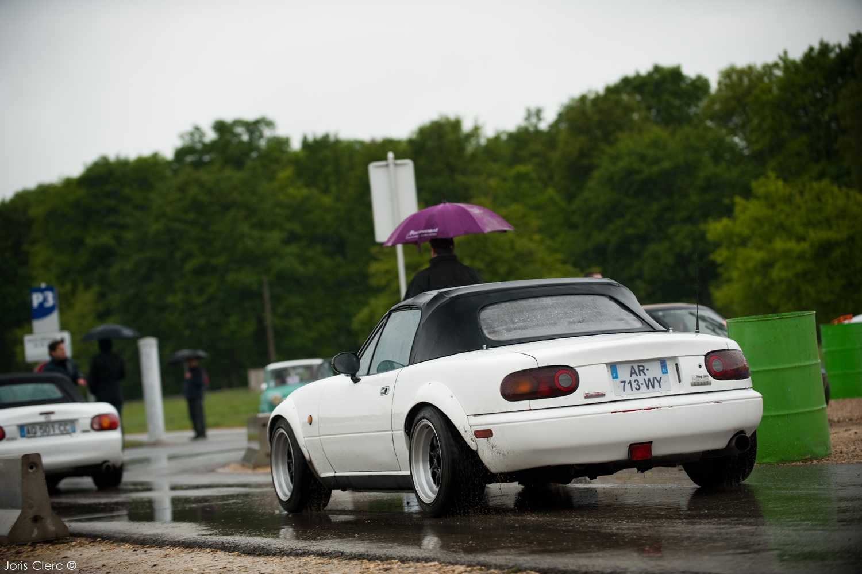 25 ème anniversaire de la Mazda MX-5 à Montlhéry