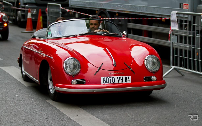 Tout Auto 2014 - Grand Palais - Porsche 356  - Raphael Dauvergne
