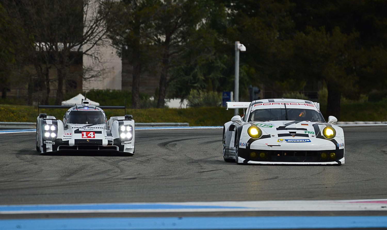 Porsche 919 Hybrid et 911 RSR - Prologue 2014 FAI WEC