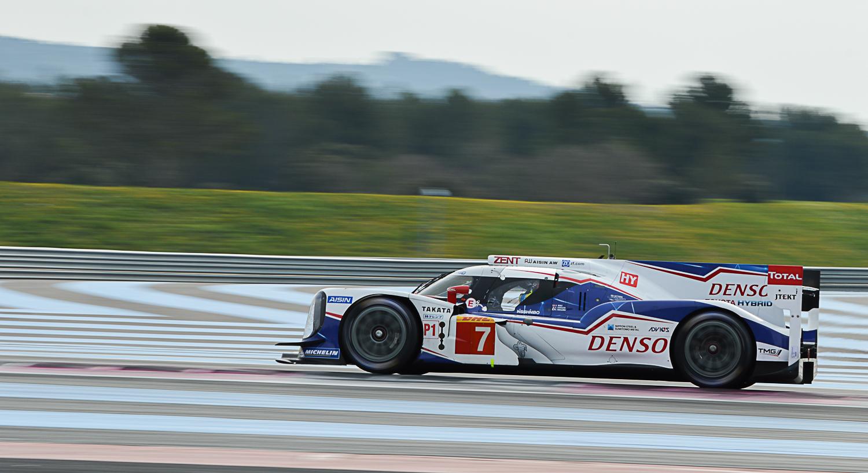 Toyota Racing TS040 - Nakajima-Sarrazin-Wurz