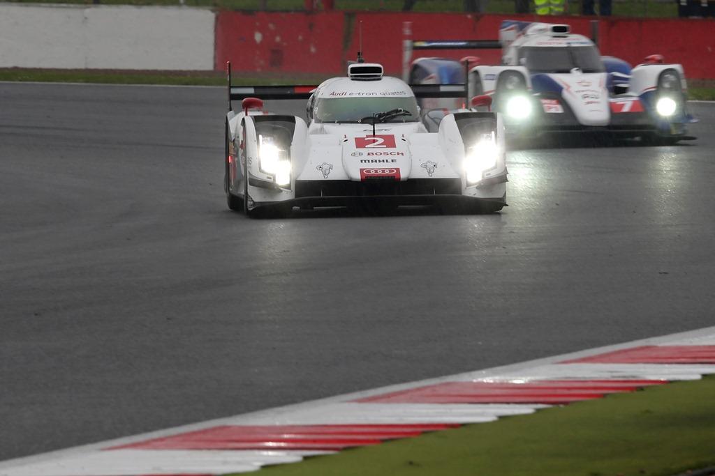 World Endurance Championship - Silverstone 2014 - Audi R18 e-Tron n°2 Toyota TS040 n°7