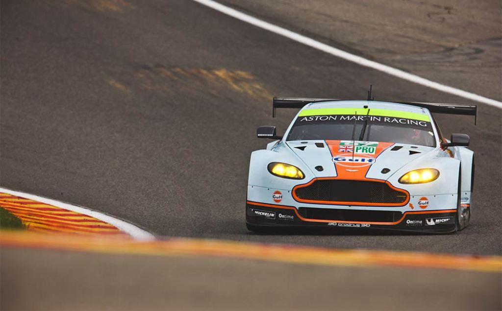 Endurance WEC Spa 2014 - Aston Martin Vantage n°97