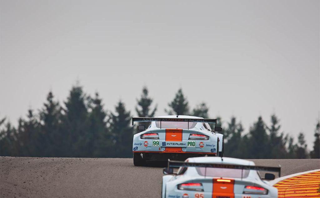 Endurance WEC Spa 2014 - Aston Martin Vantage