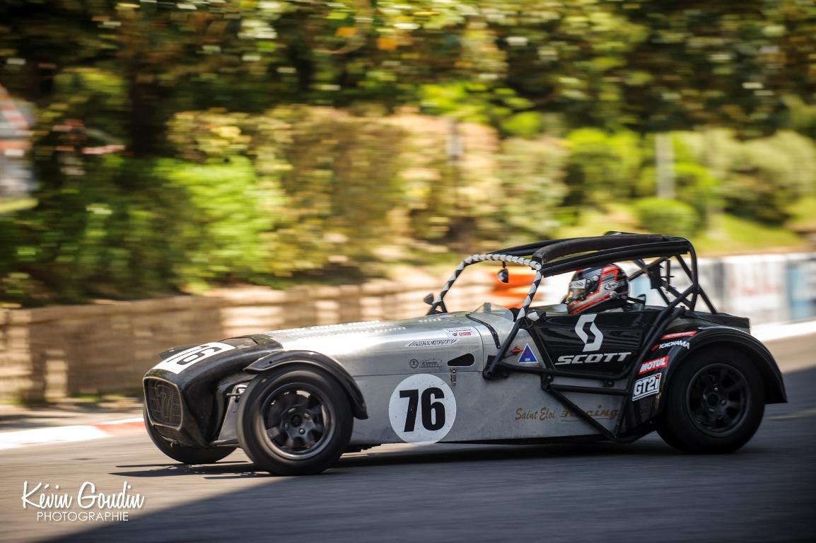 Grand Prix de Pau Historique 2014 - Challenge Caterham R300 - Kevin Goudin photographie