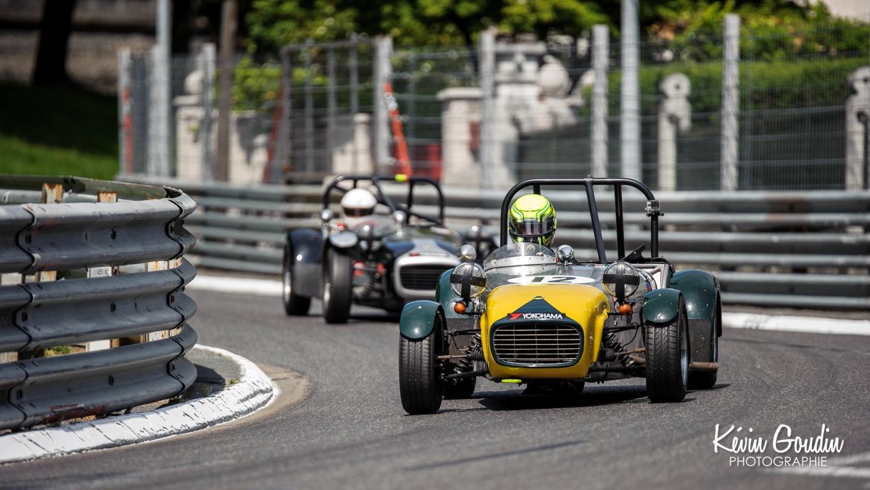 Grand Prix de Pau Historique 2014 - Trophée Lotus - Kevin Goudin photographie