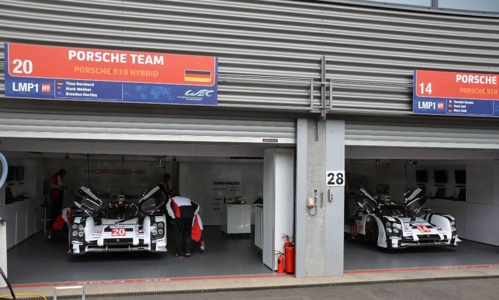 Endurance WEC Spa 2014 - Porsche 919 Hybrid n°14 et n°20