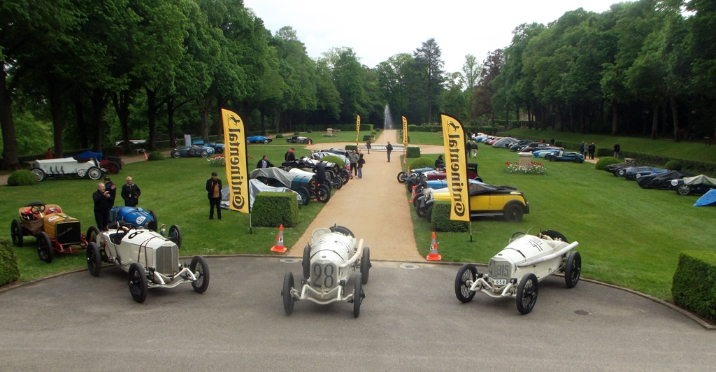 Grand Prix de Lyon 2014 - Mercedes 115 PS 1914