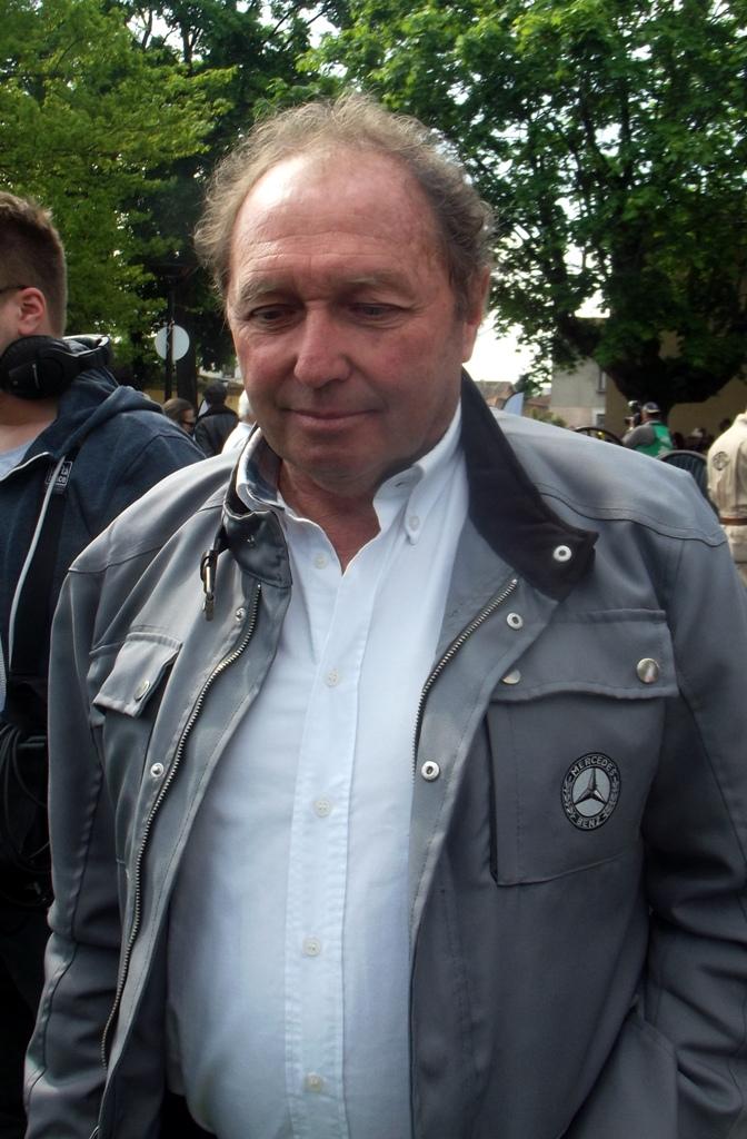 Grand Prix de Lyon 2014 - Jochen Mass pour Mercedes Classic