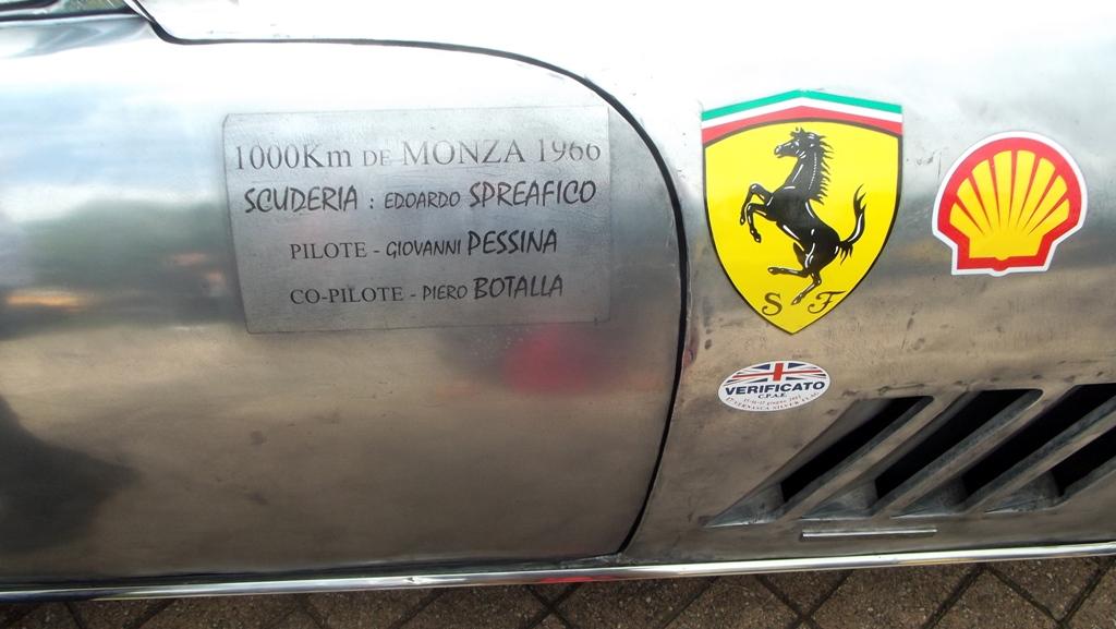 Grand Prix de Lyon 2014 - Ferrari 275 GTBC 1966