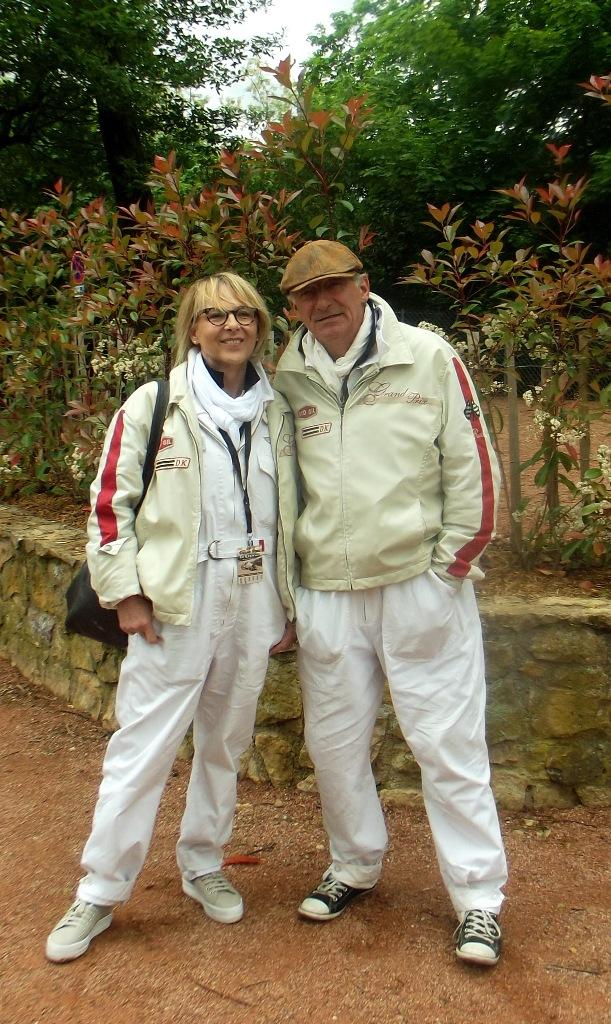Grand Prix de Lyon 2014 - Serge Peinetti et Marie Bosc
