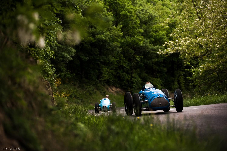 Grand Prix de Lyon 2014 - Talbot T26 1946 et Gordini T16 1952