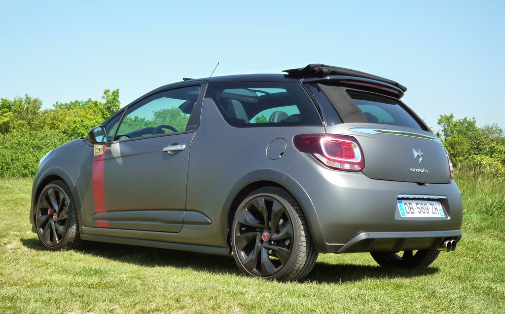 Citroën DS3 Cabriolet Racing